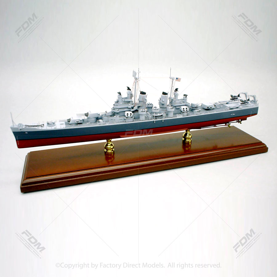 USS Quincy (CA-71)  Model Ship