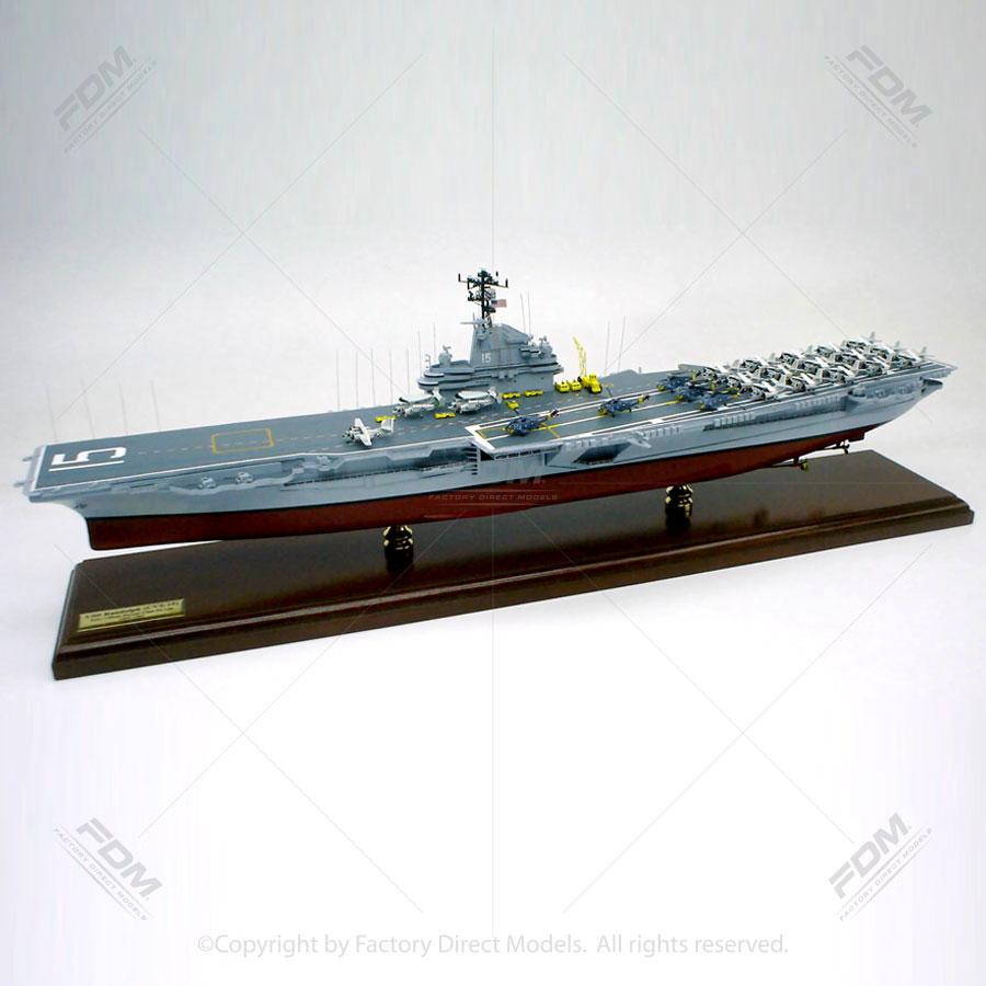 USS Randolph (CV-15) Aircraft Carrier Model