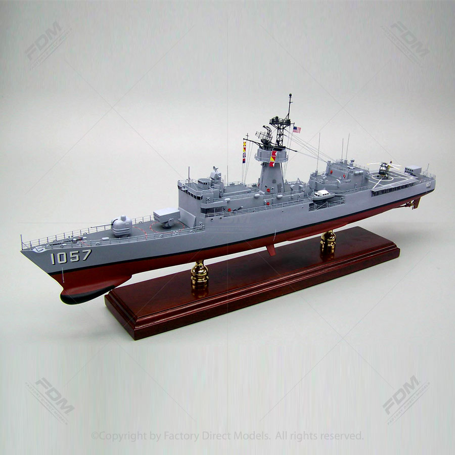 USS Rathburne (FF-1057) Model Ship