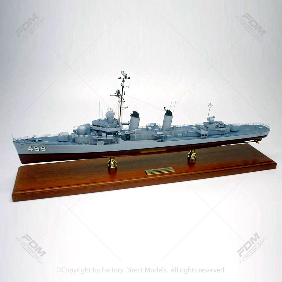 USS Renshaw DD-499 Model Ship