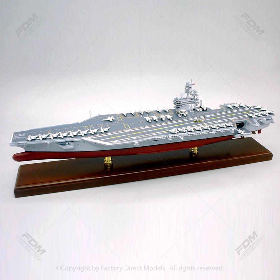 USS Ronald Reagan (CVN 76) Aircraft Carrier Model
