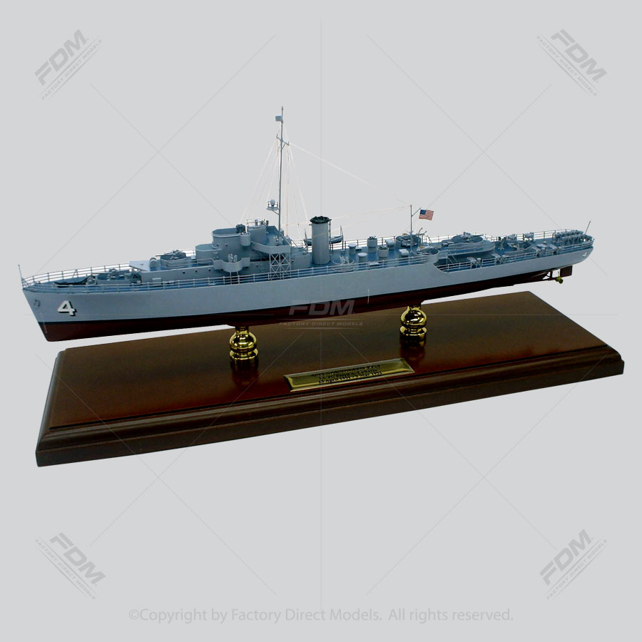 USS Sausalito (PF-4) Model Ship