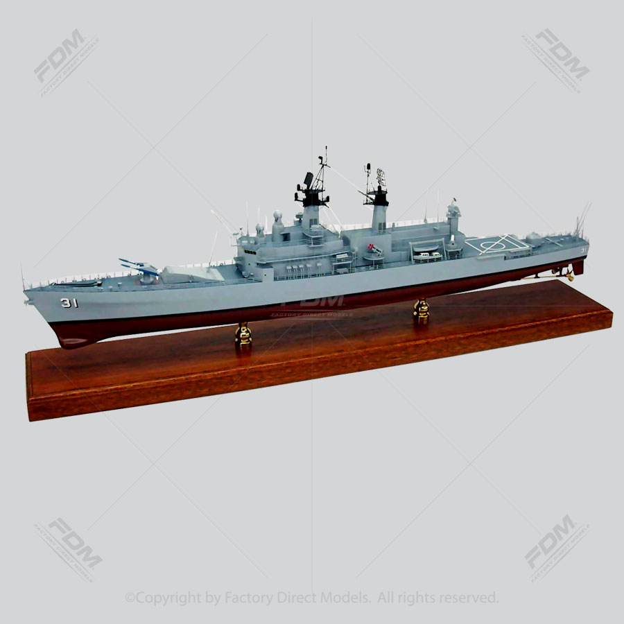 USS Sterett (CG-31) Model Ship