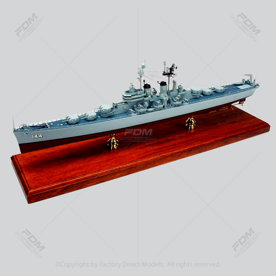 USS Worcester (CL-144) Model Ship
