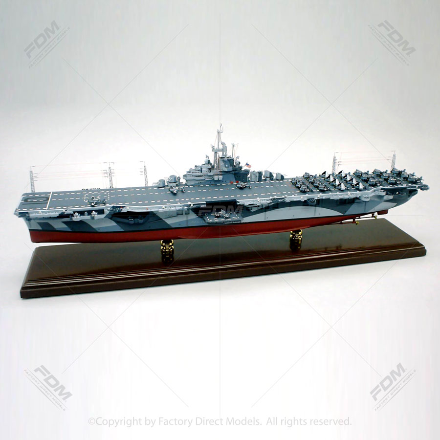 USS Yorktown (CV-10) Aircraft Carrier Model