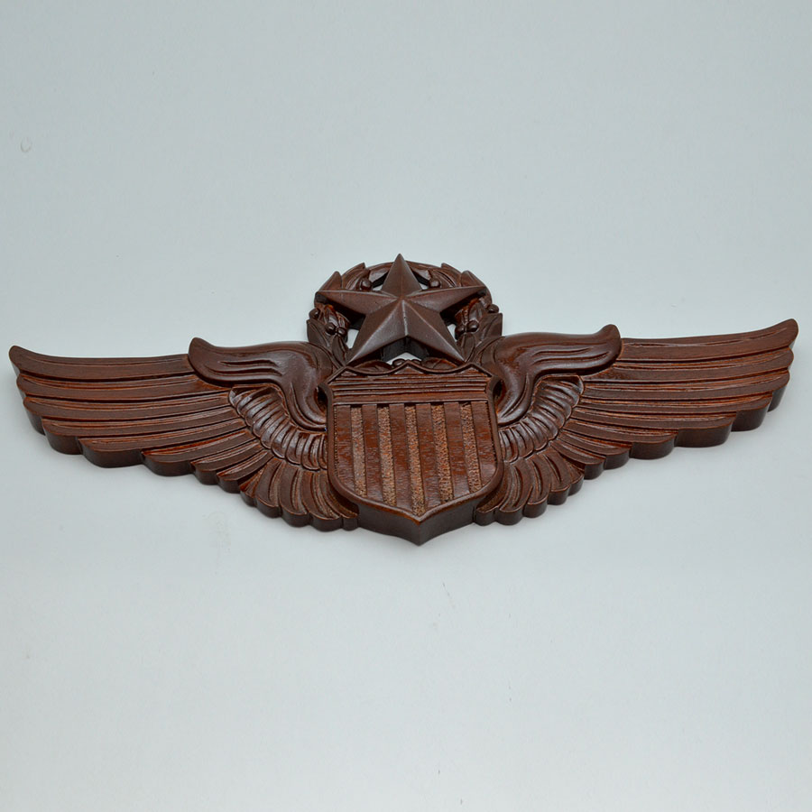 "United States Air Force Pilots Wings 17"" Wall Plaque"