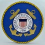 United States Coast Guard Wooden Wall Plaque