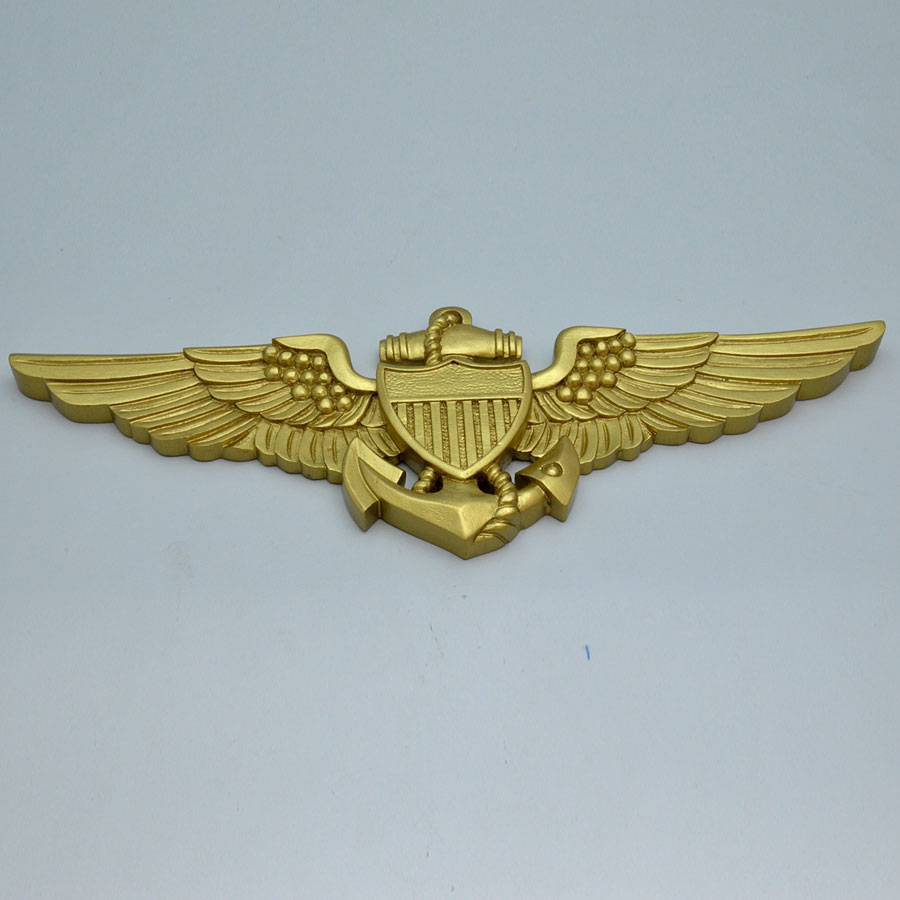 "United States Navy Pilots Wings 17"" Wall Plaque"