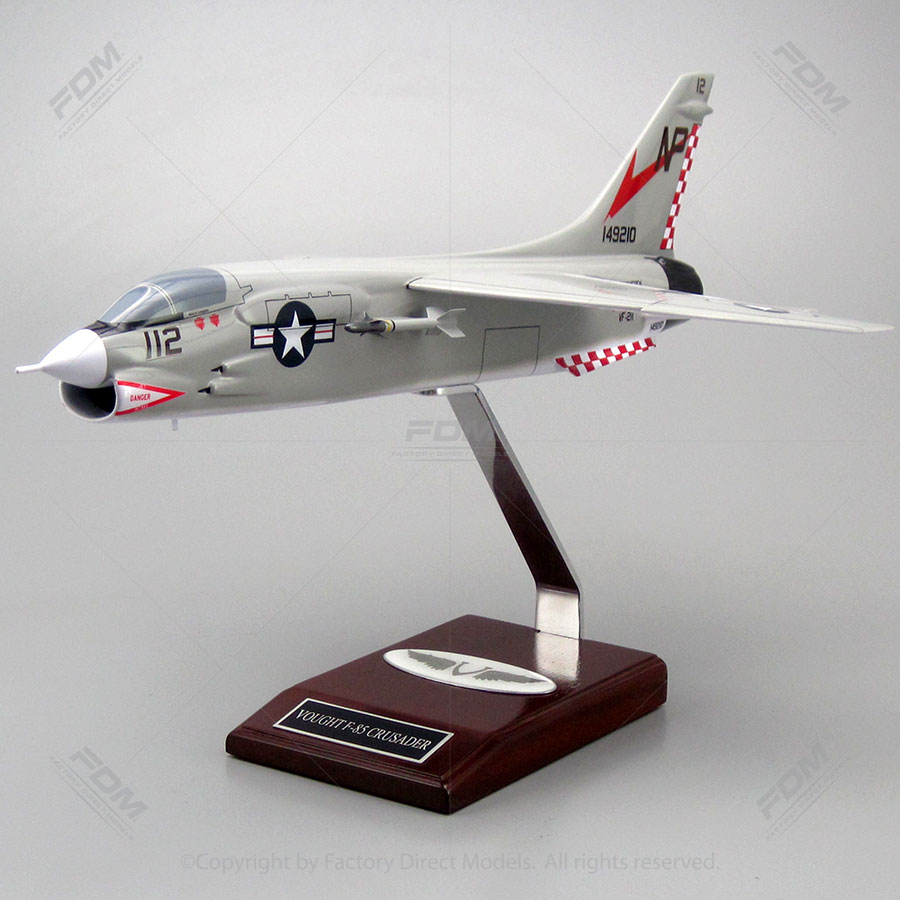 Vought F-8J Crusader Model