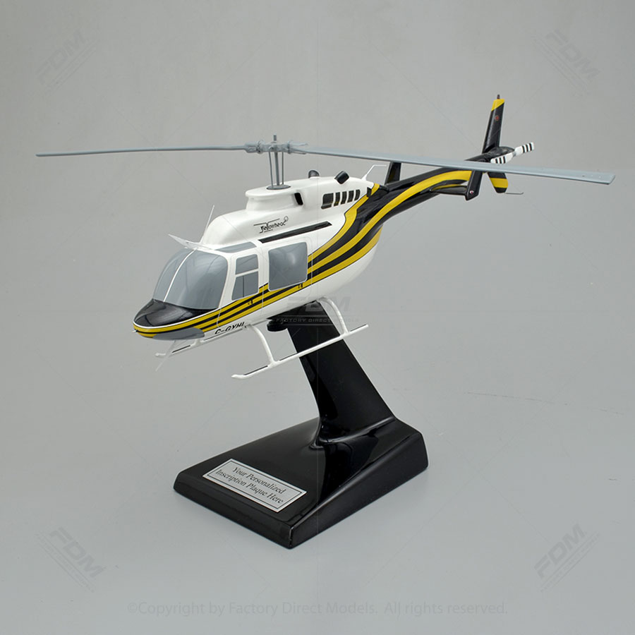 Bell 206L-4 LongRanger Scale Model Helicopter