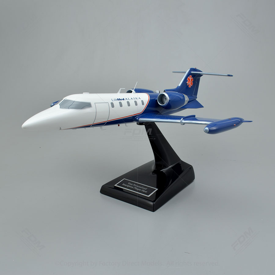 Learjet 35A Scale Model