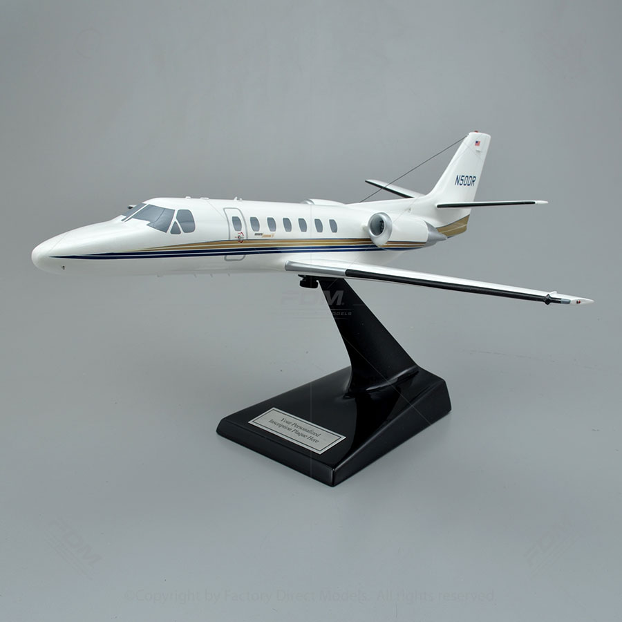 Cessna 560 Citation V Scale Model Airplane