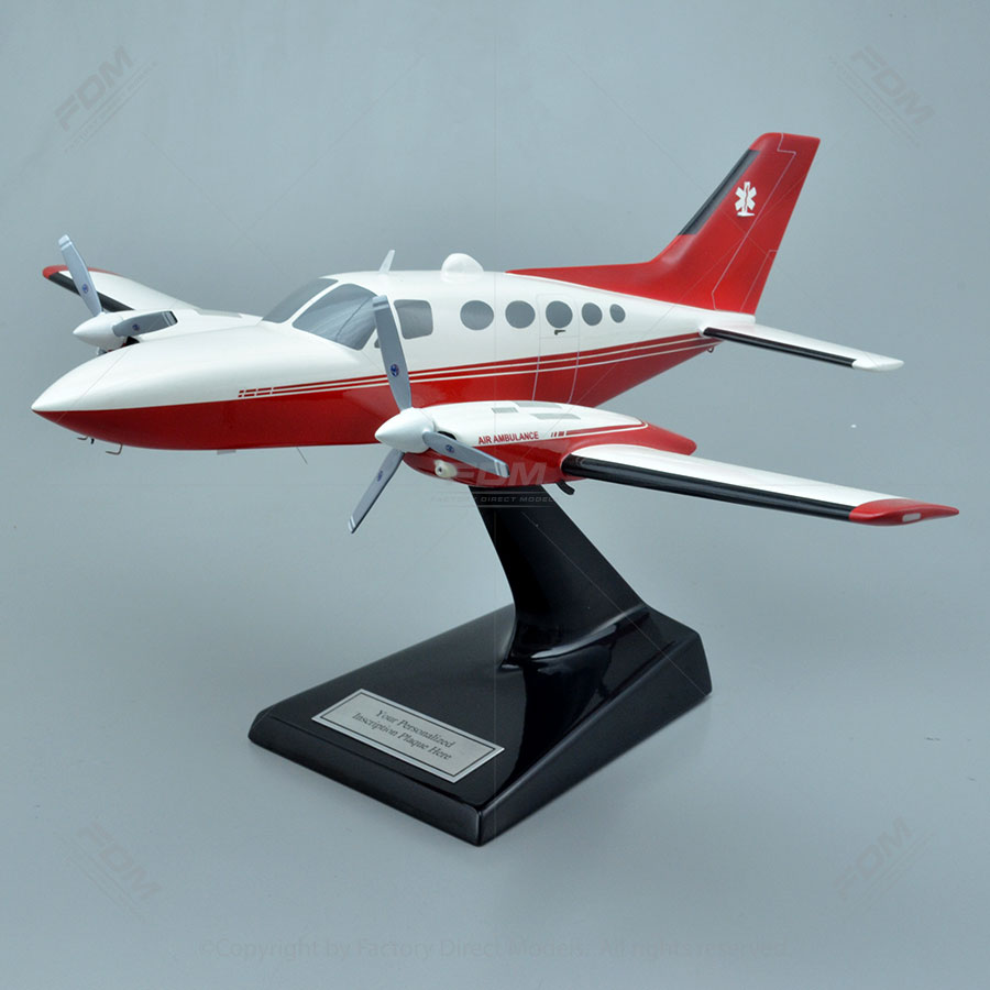 Cessna 421C Golden Eagle Scale Model Airplane