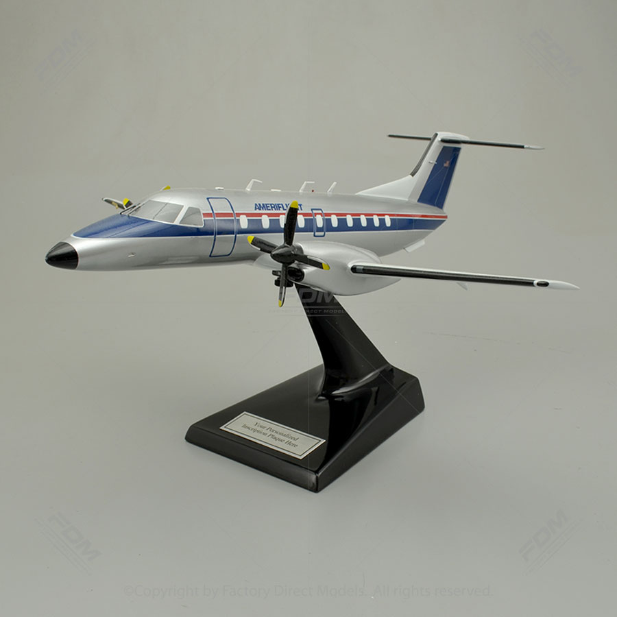 Embraer EMB-120 Brasilia Scale Model Airplane