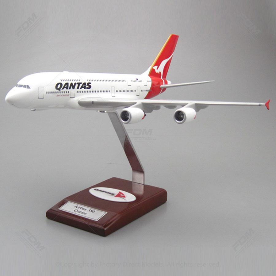 Airbus 380 Qantas Spirit of Australia Model