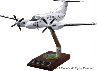 Beechcraft C-12 Huron Army Scale Model