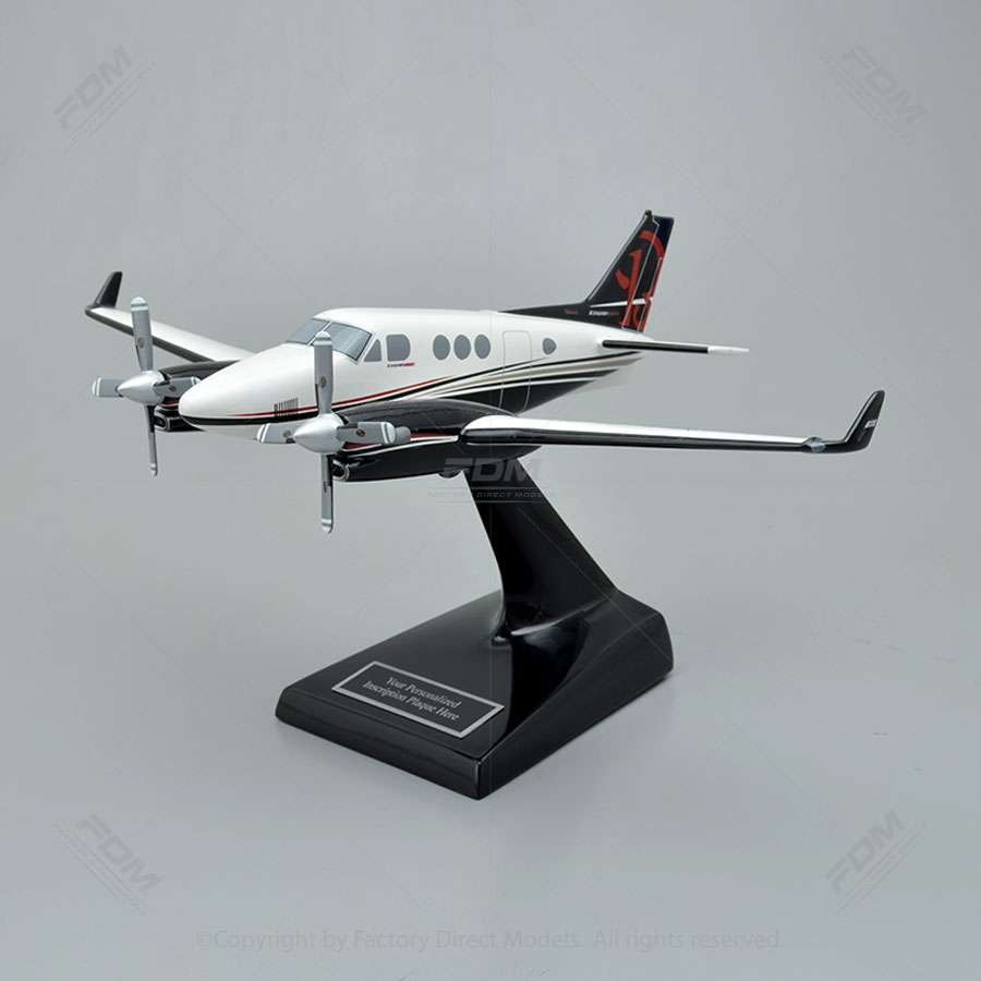 Beechcraft C90 King Air GTX Model Airplane