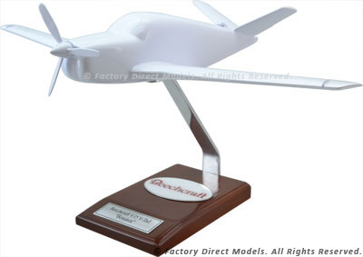 Your Custom Painted Beechcraft V35 Bonanza V-Tail Scale Model Airplane