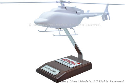 Your Custom Painted Bell 407 Low Skids Model Helicopter