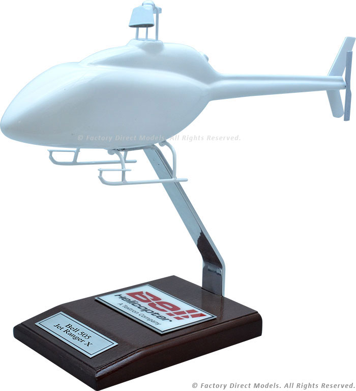 Your Custom Painted Bell 505 Jet Ranger X Scale Model Helicopter
