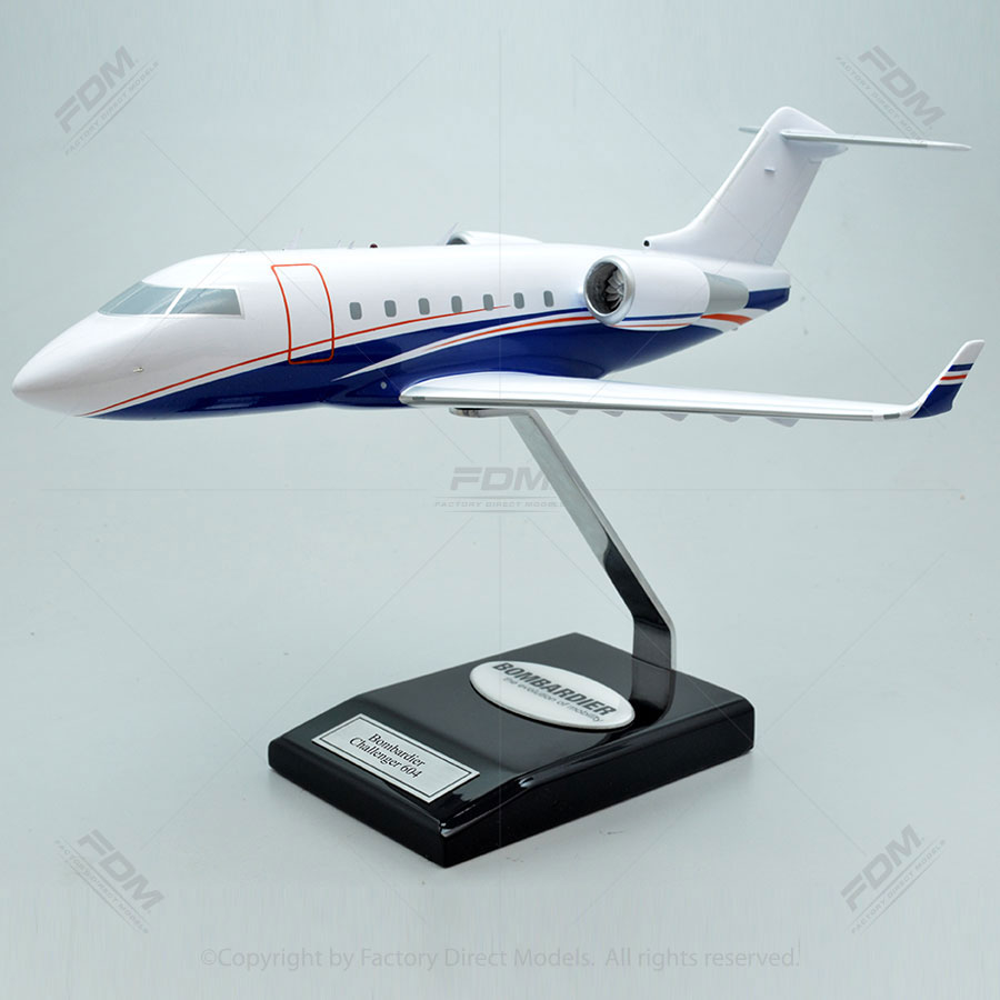 Bombardier Challenger 604 Scale Model