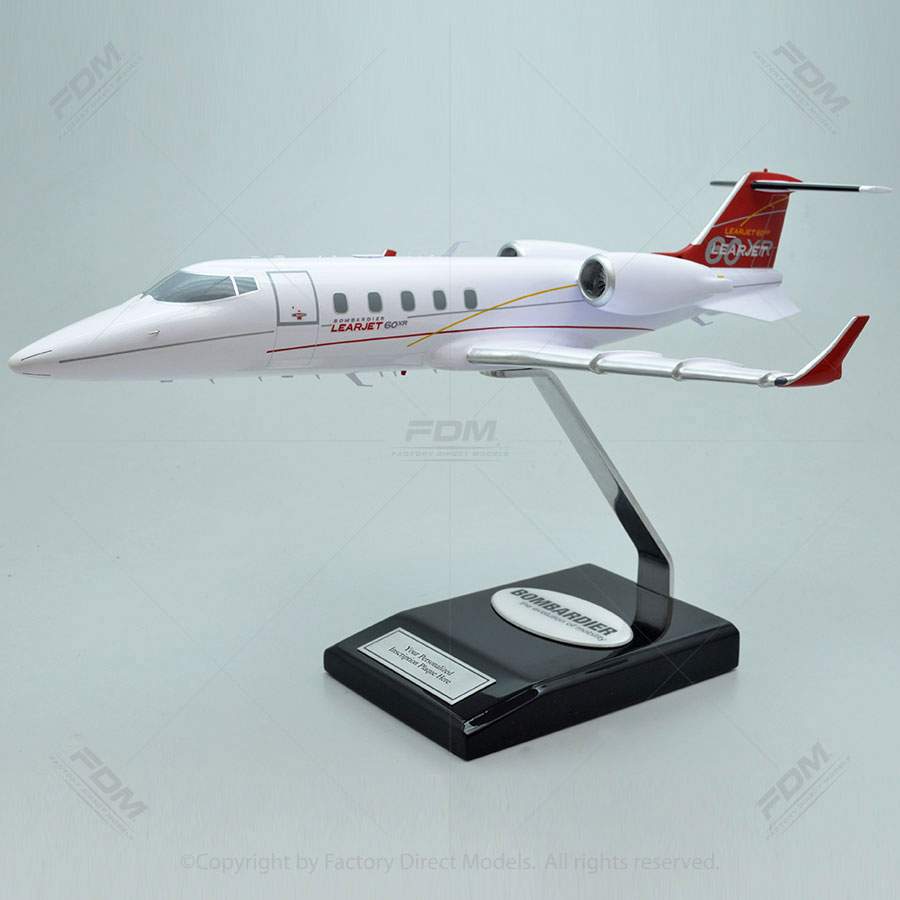 Bombardier Learjet 60XR Scale Model