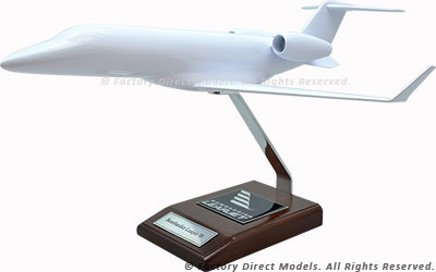 Your Custom Painted Bombardier Learjet 70 Scale Model