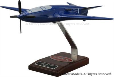 Bugatti R100P Scale Model Airplane