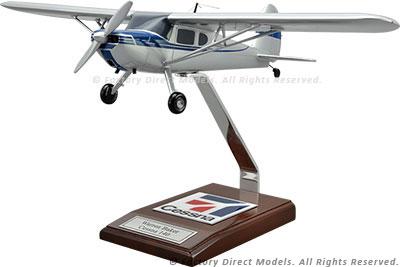 Cessna 140 Airplane Model