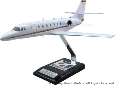 Cessna 680 Citation Legacy Sovereign Model Airplane