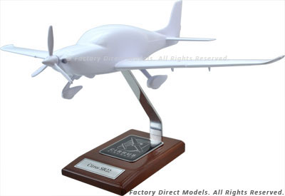 Your Custom Painted Cirrus SR22 Scale Model Airplane