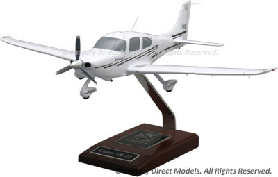 Cirrus SR22 Scale Model Airplane