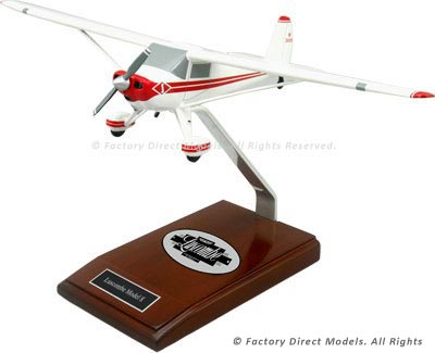 Luscombe Model 8 Airplane Model