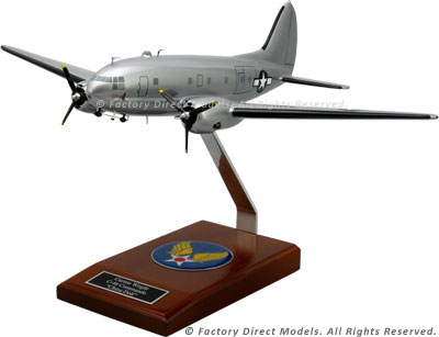 Curtiss C-46 China Doll Model Airplane
