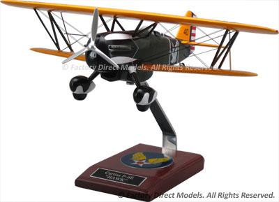 Curtiss P-6E Hawk Scale Model Aircraft