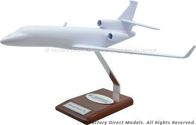 Your Custom Painted Dassault Falcon 7X Scale Model Airplane