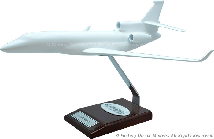 Your Custom Painted Dassault Falcon 8X Scale Model