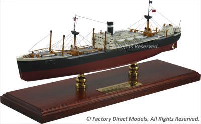 Donaldson Line SS Laurentia Scale Model Ship