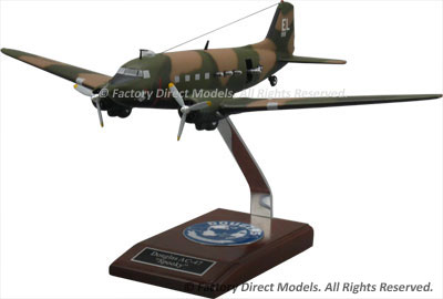 Douglas AC-47 Spooky Scale Model