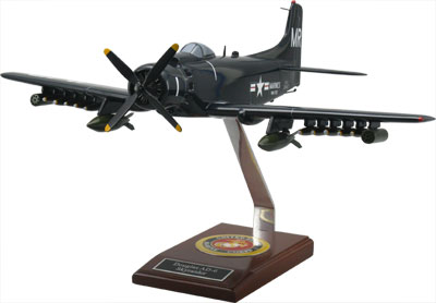 Douglas AD-6 Skyraider Scale Model