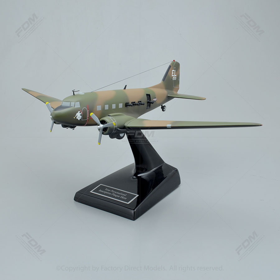 Douglas C-47 Spooky Model Airplane