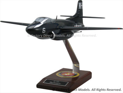 Douglas F3D Skyknight Model