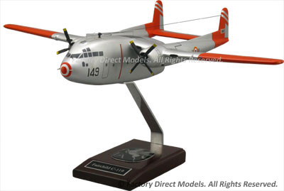 Fairchild C-119 Flying Boxcar Scale Model