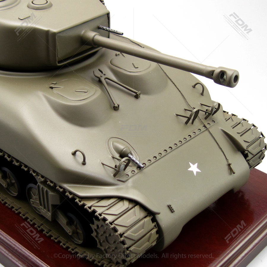 Ship A Car Direct >> M4 Sherman Tank Military Scale Model | Factory Direct Models