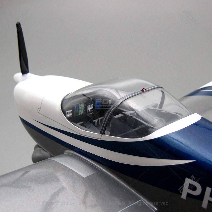 Van 39 S Aircraft Rv 12 Model With Detailed Interior