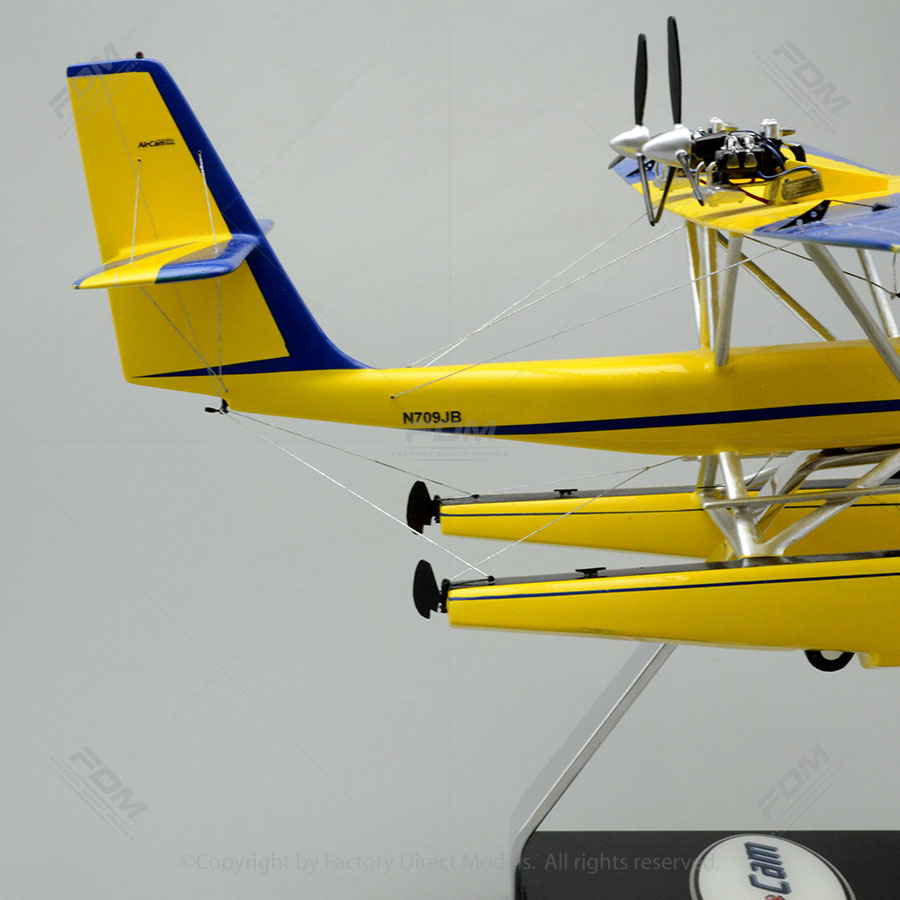 AirCam Experimental Twin Engine Aircraft Review