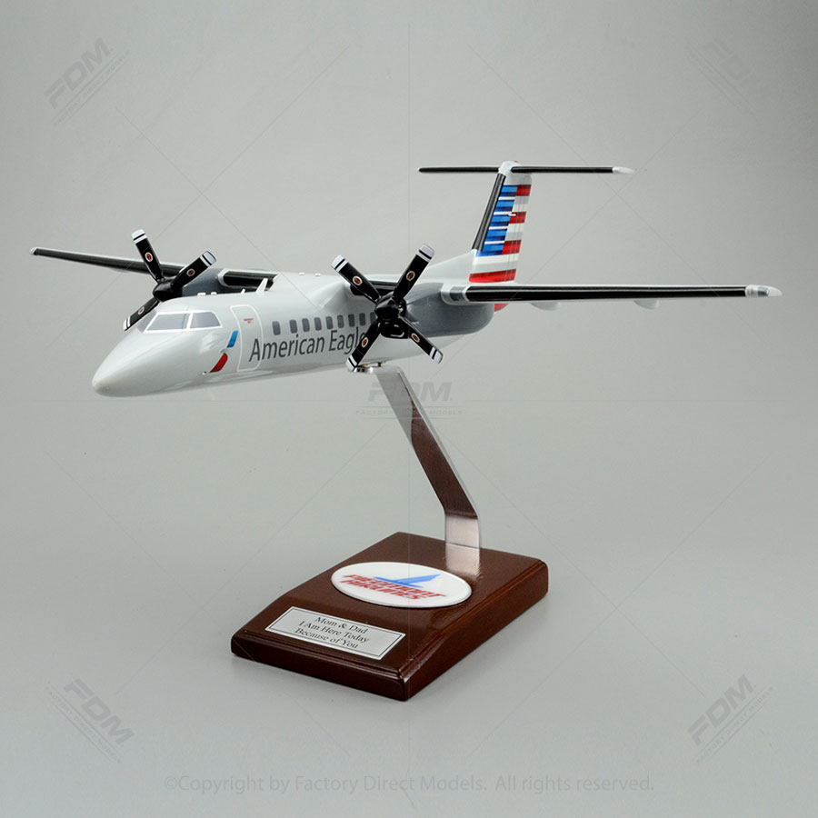 De Havilland Canada Dash 8 Piedmont Airlines Model