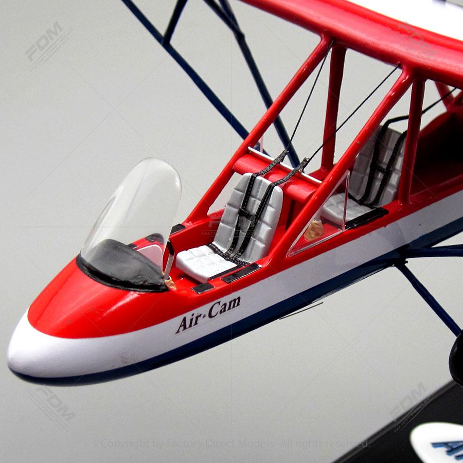 AirCam, Lockwood Aviation's Aircam Aircraft Review.