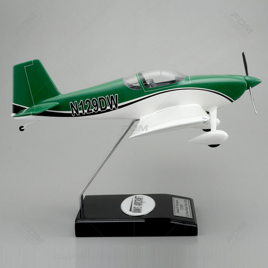 Vans Aircraft Rv7 Model With Detailed Interior