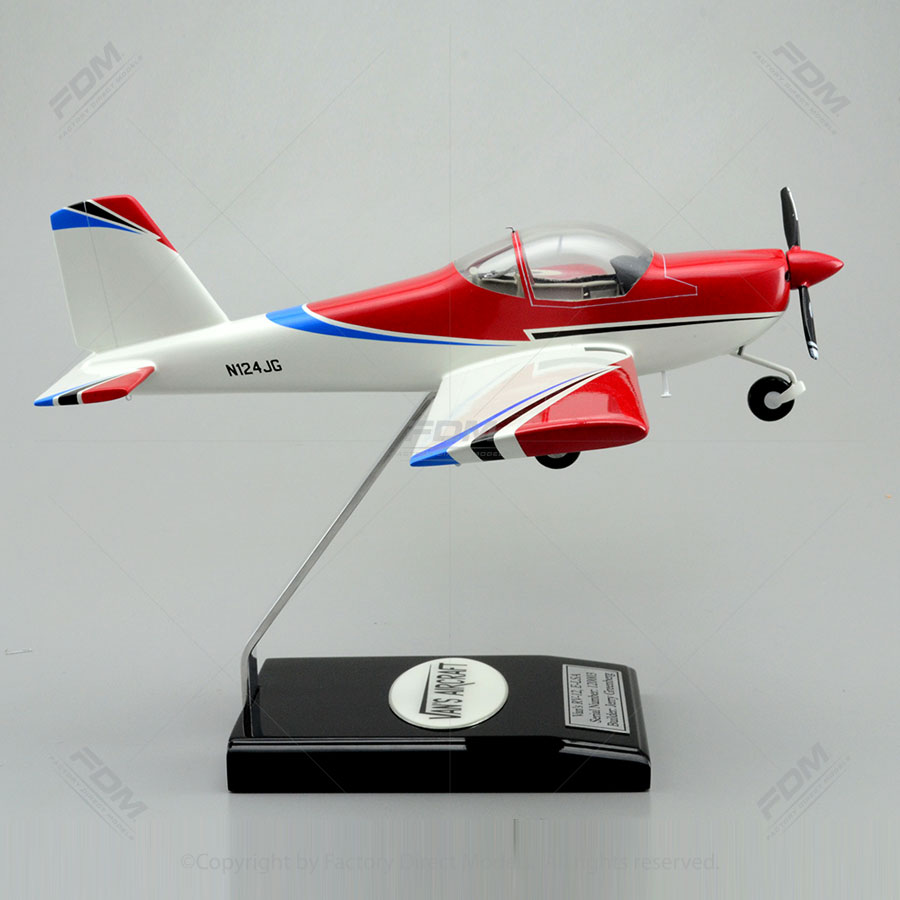 Vans Aircraft Rv 12 Model With Detailed Interior